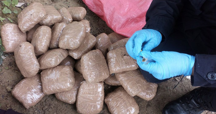 Capturan a hondureño con varios paquetes de droga en Chalatenango
