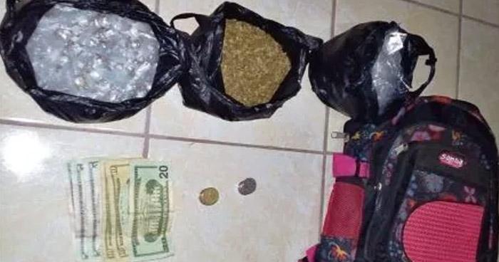 Incautan más de 180 porciones de marihuana en vivienda vinculada al narcotráfico