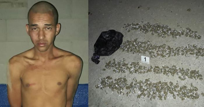 Capturado por distribución de drogas en Soyapango