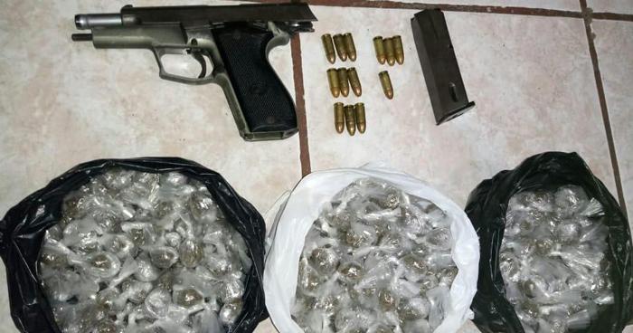 Incautan más de 300 porciones de droga a tres sujetos en Sonsonate