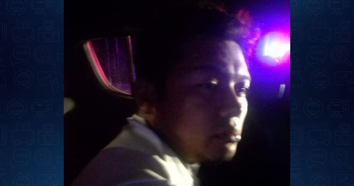 Capturan a conductor ebrio luego que provocara un accidente en carretera de Morazán