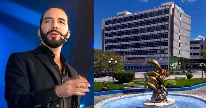 """Nayib Bukele: """"Si construyen nuevo edificio legislativo, lo convertiremos en un nuevo hospital en 2021"""""""