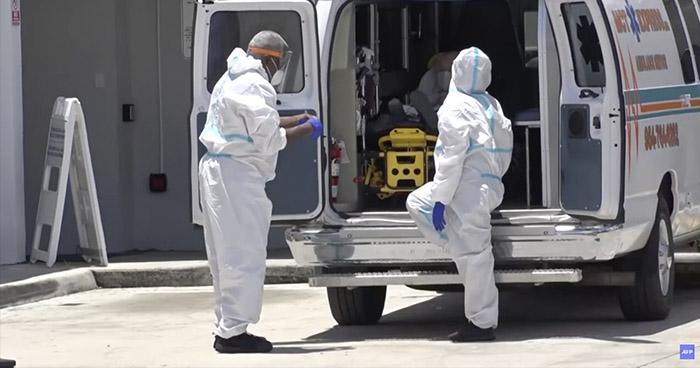 EE.UU. registra nuevo récord de contagios de COVID-19 en un día