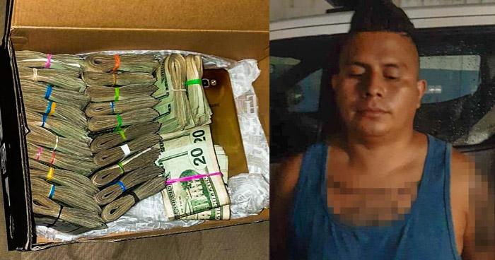 Incautan $24 Mil a conductor ebrio en San Salvador