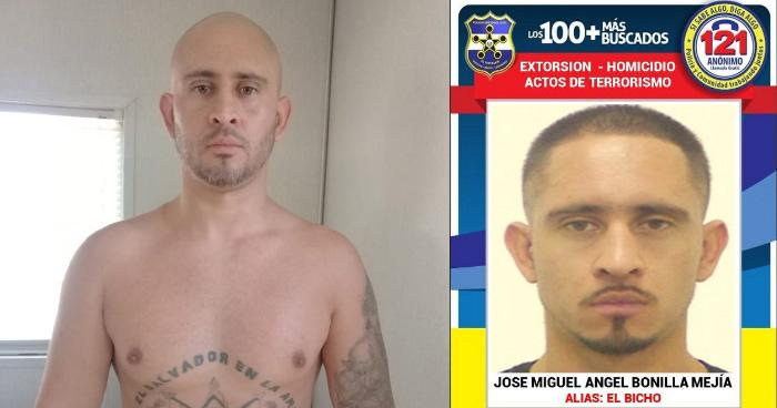 Capturan a uno de los 100 mas buscados tras ser deportado de Estados Unidos