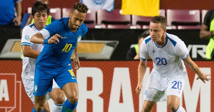 Brasil golea 5-0 a El Salvador en amistoso en Estados Unidos
