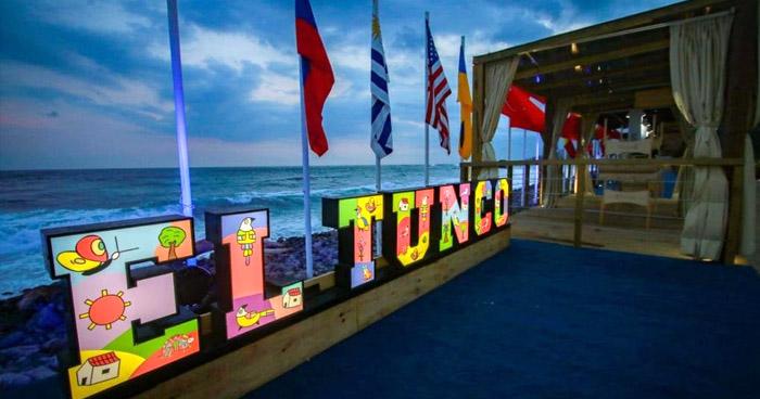 Ministra de Turismo descarta cierre de negocios en playa El Tunco