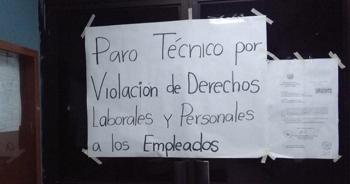 Empleados del nuevo Juzgado Especial de Instrucción denuncian irregularidades y paralizan labores