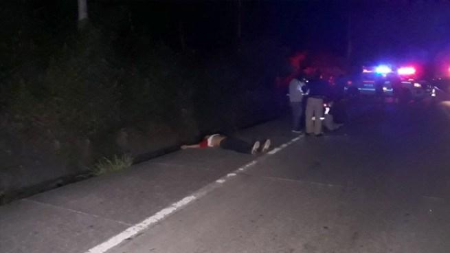 Encuentran el cadáver de un hombre en carretera de Oro, San Martín