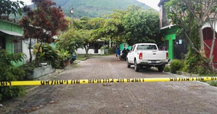 Pandillero muerto tras enfrentamiento con agentes de la PNC en Apopa