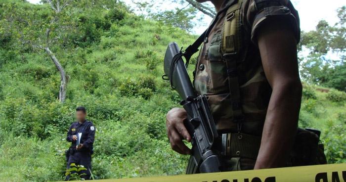 Un pandillero muerto y otro lesionado al enfrentarse a la PNC en zona rural de Izalco