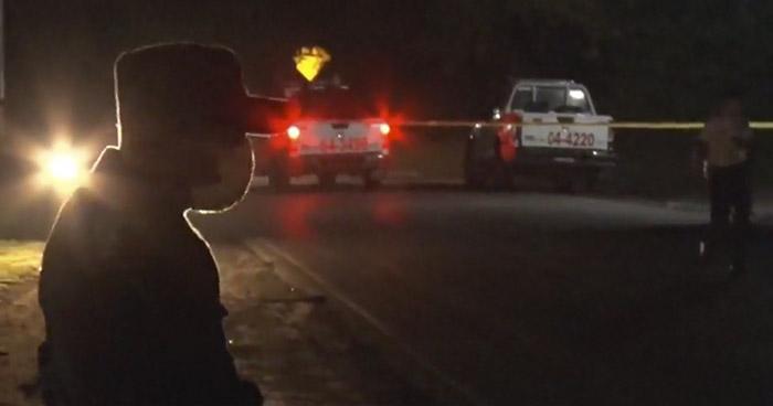 Pandillero muere tras intercambio de disparos con policías en Sacacoyo, La Libertad