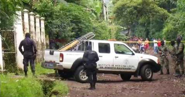Tres pandilleros muertos tras intercambio de disparos con agentes de la PNC en Sonsonate