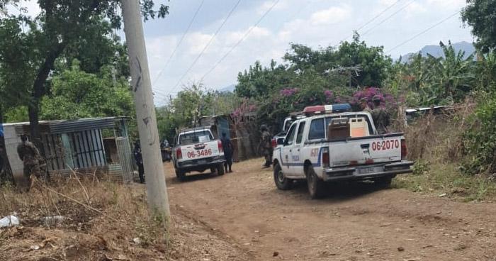 Dos pandilleros muertos y un cabo de la PNC lesionado tras enfrentamiento en Izalco