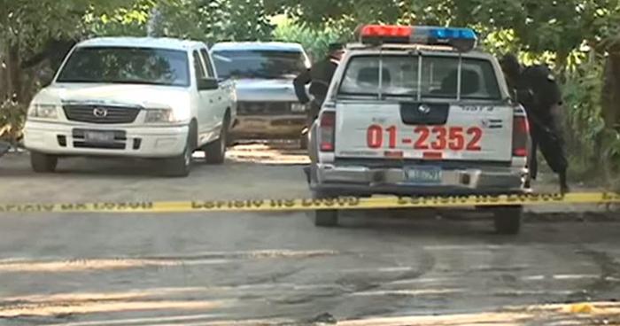 Dos pandilleros muertos al enfrentarse a policías en Jucuapa, Usulután