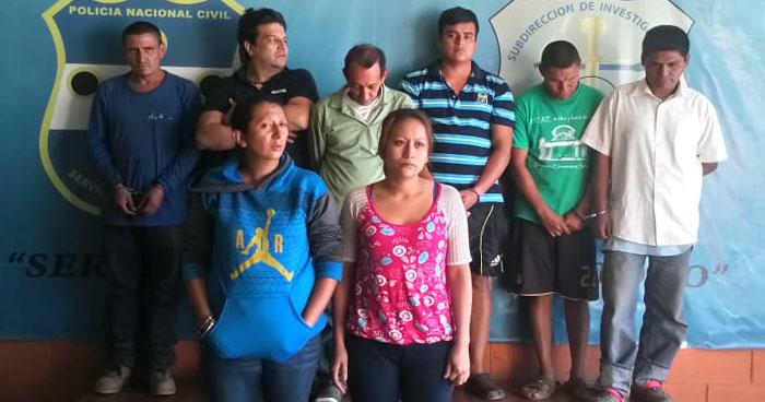 Capturan a 8 personas que estafaron $44,000 dólares a una cooperativa de San Miguel