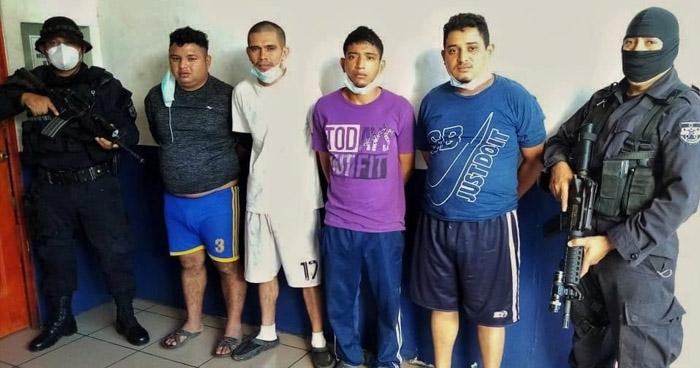 Capturan a secuestradores que operaban en la zona occidental y paracentral del país