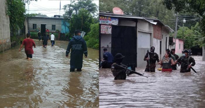 70 familias han sido evacuadas en Citalá por desbordamiento del río Lempa