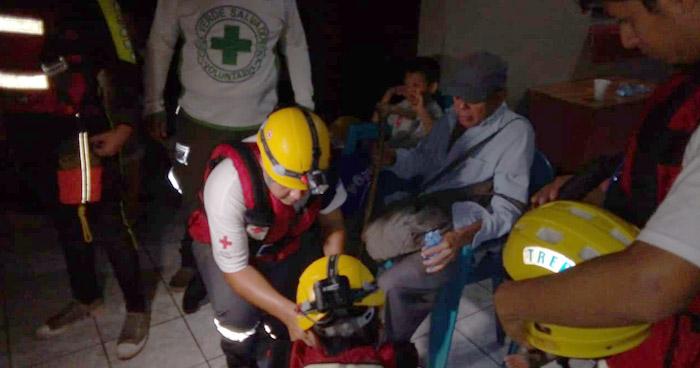 80 familias afectadas por desbordamiento de quebrada tras lluvias en La Libertad