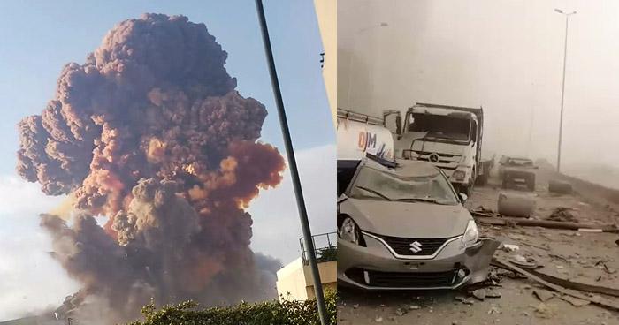 Más de 50 muertos y miles de heridos deja fuerte explosión en Beirut