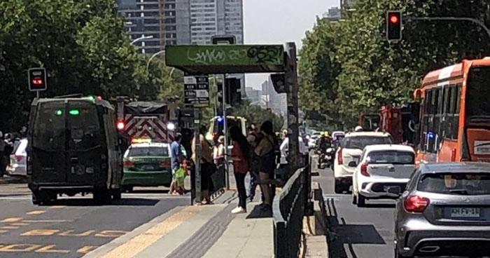 Explosión en una parada de autobús en Chile deja 5 heridos