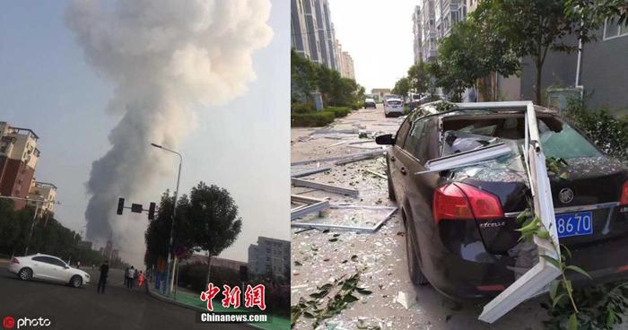 Al menos 2 muertos y una decena de desaparecidos dejó explosión en planta de gas en China