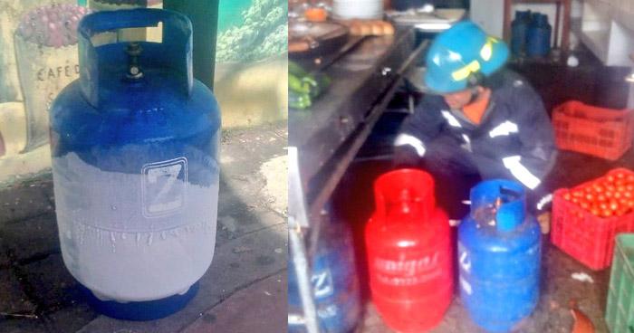 Cuatro lesionados por explosión de gas en pupusería del Paseo El Carmen