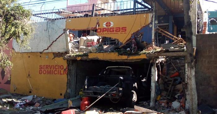 Muere propietario de venta de gas y presunto responsable de explosión en Mejicanos