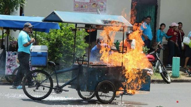 Al menos 7 estudiantes lesionados tras explosión de cilindro de gas en San Miguel