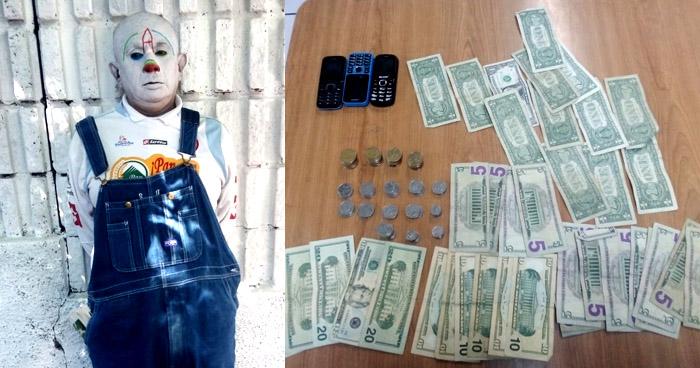 Disfrazado recogía dinero de extorsión que exigía a comerciantes en San Salvador