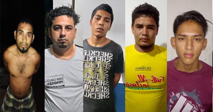 Capturan a pandilleros y colaboradores que se dedicaban a extorsionar en Santa Ana