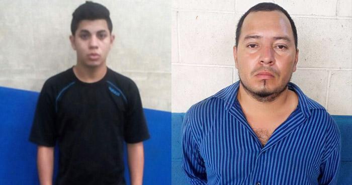 Capturan a dos sujetos requeridos por Juzgados de San Salvador por varios delitos
