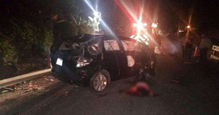 Joven fallecida y 4 lesionados tras accidente en Jayaque, La Libertad