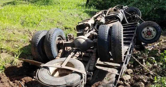 Un muerto y dos lesionados graves deja aparato accidente en San Miguel