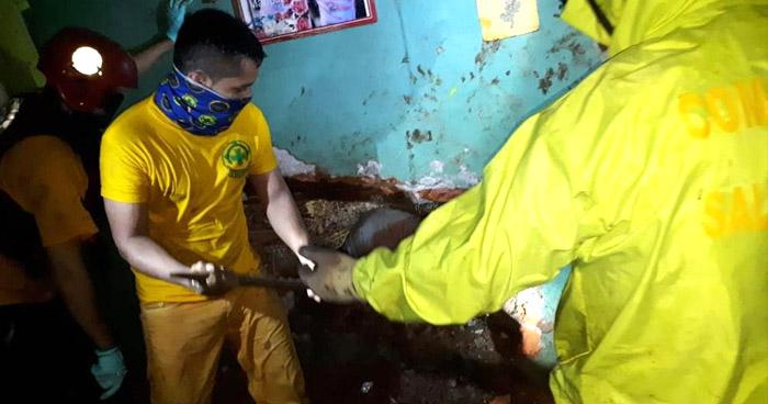 Niño de 8 años muere al quedar soterrado tras el derrumbe en vivienda de Ciudad Delgado