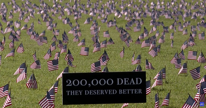 Más de 200.000 muertes por COVID-19 en Estados Unidos