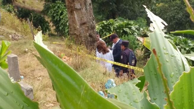 Encuentran feto humano en el cementerio de Comasagua