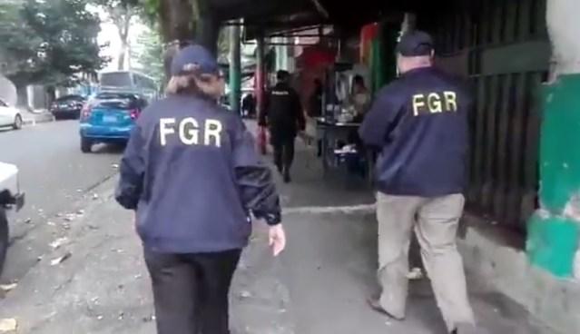 FGR allana locales de venta de CDs piratas y decomisa productos de contrabando