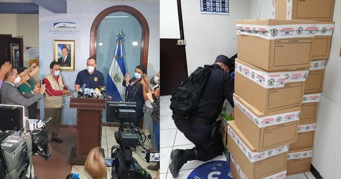 Incautan documentación durante allanamiento en la Asamblea por plazas fantasma