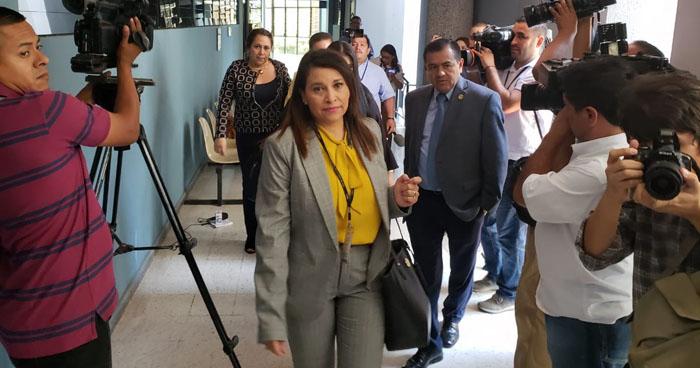 Fiscalía pide detención contra el Magistrado Escalante en Cámara de lo Penal