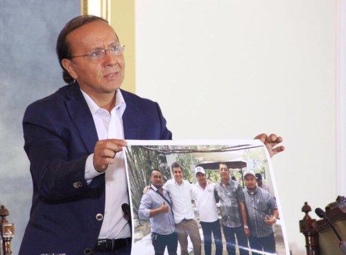 """""""Una de las personas que ha encabezado la demanda contra SITRAMSS es activista de ARENA"""" dice Gerson Martínez"""