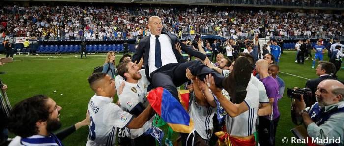 Zidane es el segundo entrenador francés en ser Campeón de Liga