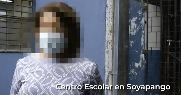 Comisión presenta videos de maestros y alumnos de un centro escolar que niegan haber sido beneficiados por Fundaspad