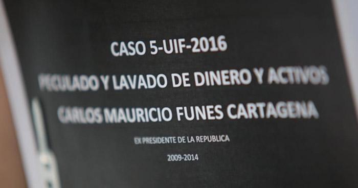 Pericias financieras confirman que Mauricio Funes extrajo $351 millones del Estado