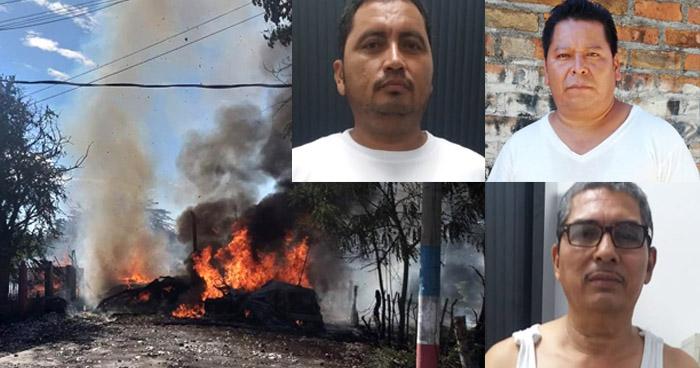 Implicados al furgón con pólvora que se incendió en La Unión enfrentaran el proceso en libertad