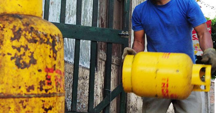 Precios de gas propano bajarán hasta $0.15 ctvs durante febrero de 2019