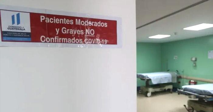 Guatemala registra 155 muertes a causa de COVID-19 en la última semana