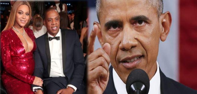 Obama revela por error el sexo de los gemelos de Beyoncé
