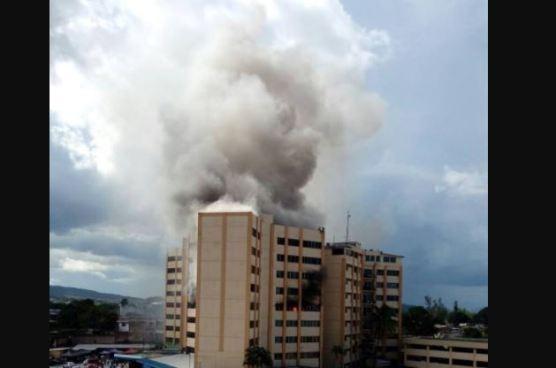 Muere otro empleado de Hacienda que resultó afectado por el incendio