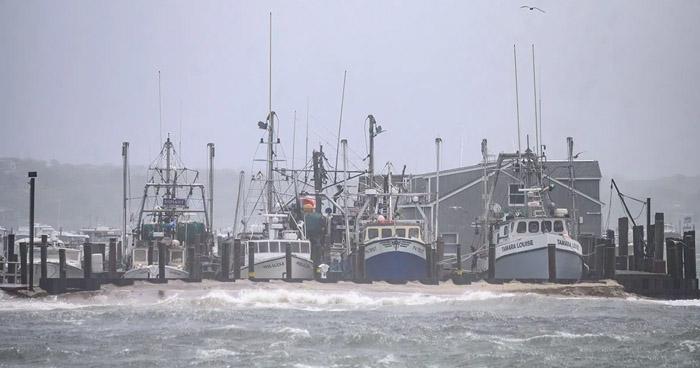 """""""Henri"""" deja inundaciones y daños en la red electricidad en el noreste de EE.UU."""